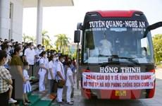 Tuyên Quang, Hà Giang, Lào Cai hỗ trợ Hà Nội chống dịch COVID-19
