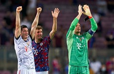 Bayern Munich thắng đậm trước Barcelona ngay tại Camp Nou