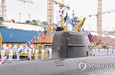 Hàn Quốc phóng thử thành công tên lửa đạn đạo từ tàu ngầm
