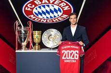 Tiền vệ Leon Goretzka gia hạn hợp đồng với Bayern Munich đến năm 2026