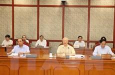 Tổng Bí thư Nguyễn Phú Trọng chủ trì họp Bộ Chính trị, Ban Bí thư