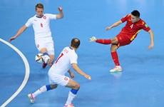 Xác định được 13 đội tuyển góp mặt ở vòng 1/8 FIFA Futsal World Cup