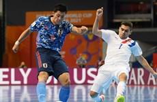 Xác định xong 16 đội tuyển góp mặt ở vòng 1/8 FIFA Futsal World Cup