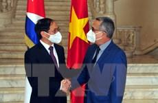Bộ trưởng Bùi Thanh Sơn gặp gỡ lãnh đạo Bộ Ngoại giao các nước