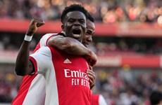 Sao trẻ tỏa sáng, Arsenal thắng vùi dập Tottenham ở trận derby London