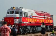 Trung Quốc khai trương tuyến đường sắt Thượng Hải-Hamburg