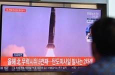 Triều Tiên xác nhận thử nghiệm thành công một tên lửa siêu thanh mới