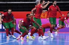 Bồ Đào Nha đối đầu Argentina ở chung kết FIFA Futsal World Cup 2021