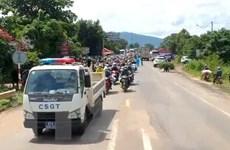 COVID-19: Hỗ trợ người dân từ các tỉnh, thành phía Nam về quê an toàn