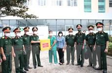 Trung tướng Ngô Minh Tiến kiểm tra công tác phòng chống dịch ở Gia Lai