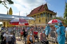 COVID-19: Hơn 84% dân số Campuchia đã tiêm ít nhất một mũi vaccine