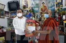 Người Khmer Cà Mau tổ chức lễ Sene Dolta gọn nhẹ để phòng dịch
