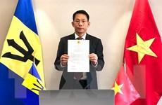 Việt Nam và Barbados có nhiều lĩnh vực hợp tác tiềm năng