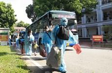 Vĩnh Phúc đón hơn 300 người từ miền Nam về quê bằng máy bay