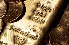 Giá vàng trên thị trường thế giới tăng nhẹ trong phiên 6/10