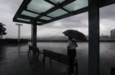 Dự báo bão Kompasu gây gió mạnh và mưa lớn ở phía Nam Trung Quốc