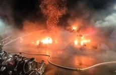 [Video] Hiện trường vụ cháy chung cư ở Đài Loan, 46 người thiệt mạng