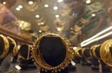 Giá vàng châu Á chiều 14/10 gần mức cao nhất trong một tháng