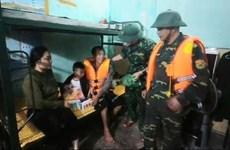 Hải Phòng: Cứu nạn kịp thời 3 người dân trên tàu cá bị chìm trên biển