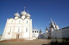 [Photo] Thành phố cổ Rostov Velikyi trong sắc Thu nước Nga