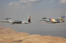 Israel tổ chức diễn tập máy bay chiến đấu quốc tế giữa 8 quốc gia