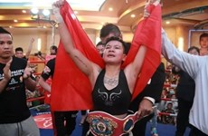 Võ sỹ Nguyễn Thị Thu Nhi giành chức vô địch quyền Anh WBO