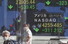 Hầu hết các thị trường trường chứng khoán châu Á đi lên theo Phố Wall