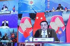 ASEAN-Trung Quốc tăng cường hợp tác giúp khu vực phục hồi sau đại dịch