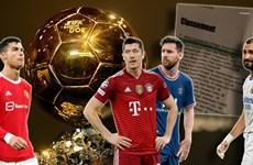 Rò rỉ kết quả bầu chọn Quả bóng Vàng: Lewandowski chiến thắng?