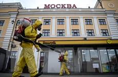 Nga: Thủ đô Moskva đóng cửa trường học, cửa hàng và quán ăn