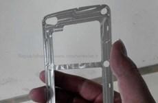 Lộ diện hình ảnh khung kim loại smartphone Galaxy S5