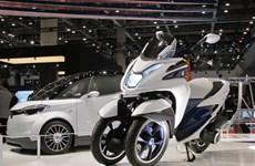 Nissan và Yamaha giới thiệu xe không khí thải, tiếng ồn