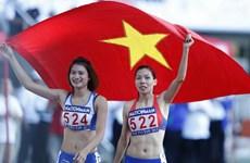 Tuyển điền kinh Việt Nam hạnh phúc vì hoàn thành chỉ tiêu