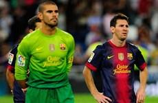 Barca đón tin vui liên tiếp từ Valdes và Lionel Messi