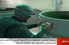 Vũ khí hóa học Syria sẽ được tiêu hủy trên tàu của Mỹ