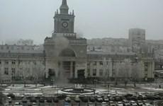 """Video """"góa phụ đen"""" đánh bom nhà ga ở Volgograd"""