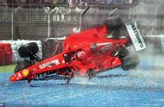 Những giây phút sinh tử của Schumacher trên đường đua F1