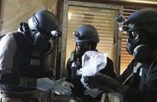 Hàn Quốc cử chuyên viên tiêu hủy vũ khí hóa học Syria
