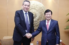 Thúc đẩy, mở rộng sự hợp tác nhiều mặt Việt Nam-Algeria