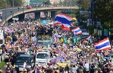 Video phe đối lập Thái Lan quyết tâm cản trở bầu cử
