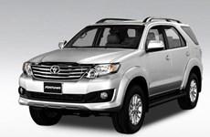 Lượng xe bán ra của Toyota Việt Nam tăng ấn tượng