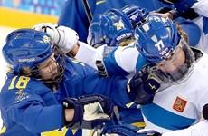 Vận động viên nữ hỗn chiến tại Sochi