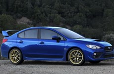 Subaru công bố giá bán các phiên bản mới của mẫu WRX