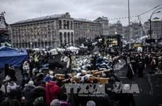 Hình ảnh đồ họa nền kinh tế đáng báo động của Ukraine