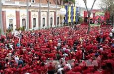 Thanh niên, sinh viên Venezuela cam kết ủng hộ chính phủ