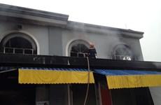 Trắng đêm vật lộn cứu chợ Phố Hiến bị cháy tan hoang