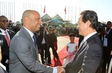 Việt Nam và Haiti thúc đẩy mạnh mẽ quan hệ hợp tác
