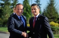 Pháp-Mexico muốn thúc đẩy mối quan hệ đang bị đình trệ