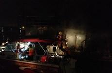 Đồng Nai: Công bố nghi vấn vụ cháy tàu làm 2 người chết