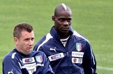 Italy lên danh sách: Cassano trở lại, sát cánh với Balotelli